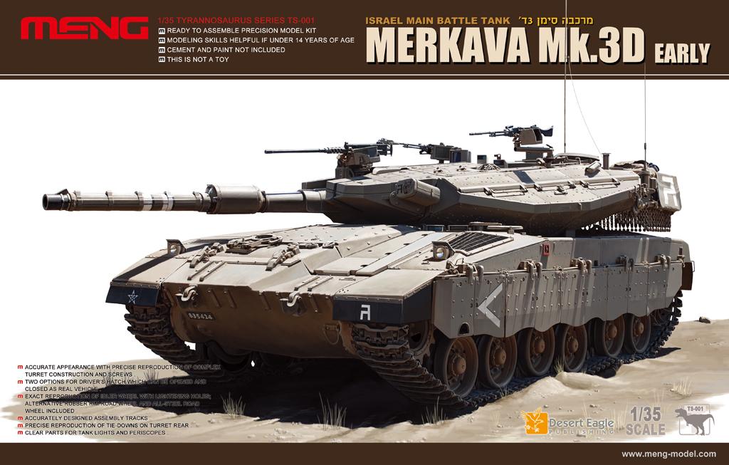 MENG Model TS-016 Plastikmodellbau German Main Battle Tank Leopard 2 A4